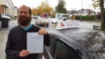 Dan Honeyman passed with 1 week 2 pass