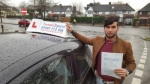 Sayed Sultani passed with 1 week 2 pass