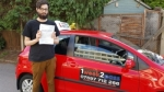 Callum Bashford passed with 1 week 2 pass