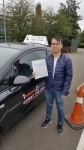 Kayden Lee passed with 1 week 2 pass