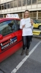 Agnija Sukeliene passed with 1 week 2 pass