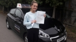 Cassie Bunton passed with 1 week 2 pass