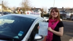 Claire Buswell passed with 1 week 2 pass
