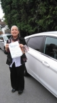Sabine passed with 1 week 2 pass