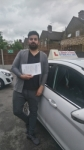 Arash Ayazi passed with 1 week 2 pass