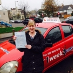 EMMA passed with 1 week 2 pass