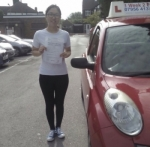 Mandy  passed with 1 week 2 pass