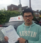 Choi passed with 1 week 2 pass