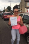 Anita passed with 1 week 2 pass