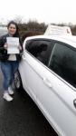 Gizem passed with 1 week 2 pass