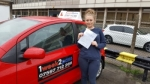 Hannah Morris passed with 1 week 2 pass