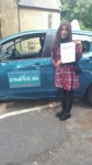 Dina Abdul passed with 1 week 2 pass