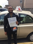Johnson passed with 1 week 2 pass