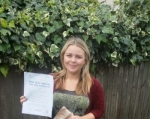 Kerri passed with 1 week 2 pass