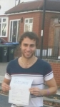 Gianni Cumbo passed with 1 week 2 pass