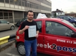 Ionut Lazar passed with 1 week 2 pass