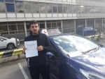 Jawad passed with 1 week 2 pass