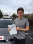 Lewis Hitchings passed with 1 week 2 pass