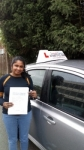 Sudha passed with 1 week 2 pass
