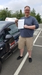 Tim passed with 1 week 2 pass
