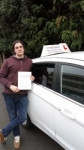 Daniel passed with 1 week 2 pass