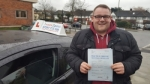 James Murphy passed with 1 week 2 pass