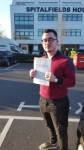 Alban Sahili passed with 1 week 2 pass