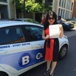 Congratulations passed with Blueway Driving school