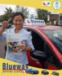 Automatic Driving Lessons NW8 passed with Blueway Driving school