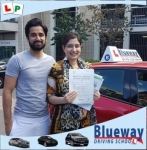 Automatic Driving Lessons passed with Blueway Driving school