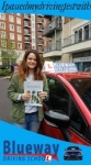 Driving School Kensal Rise passed with Blueway Driving school