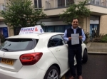 Alessandro passed with Blueway Driving school