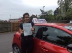Minaal Khan passed with Blueway Driving school