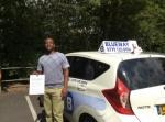 Harry Mutari passed with Blueway Driving school
