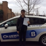 David passed with Blueway Driving school
