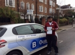 Mohammed passed with Blueway Driving school