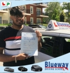 Driving Lessons North West London  passed with Blueway Driving school
