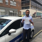 Aminur Rahman passed with Blueway Driving school