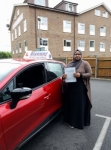 Congratulations Ria passed with Blueway Driving school