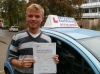 Aaron passed with Francos Driving School