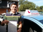 Adem passed with Francos Driving School