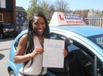 Aisance passed with Francos Driving School
