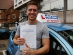 Alec passed with Francos Driving School