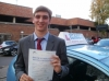 Bernie passed with Francos Driving School
