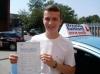 Brett passed with Francos Driving School