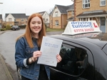 Charlotte passed with Franco's Driving School