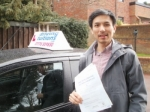 Cuong passed with Franco's Driving School