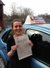 Daisy passed with Francos Driving School