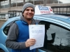 Dhruv passed with Francos Driving School