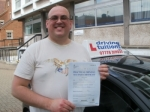 Dmitri passed with Francos Driving School
